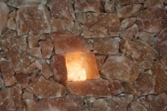 Salt cave construction, Polish salt, Himalayan salt