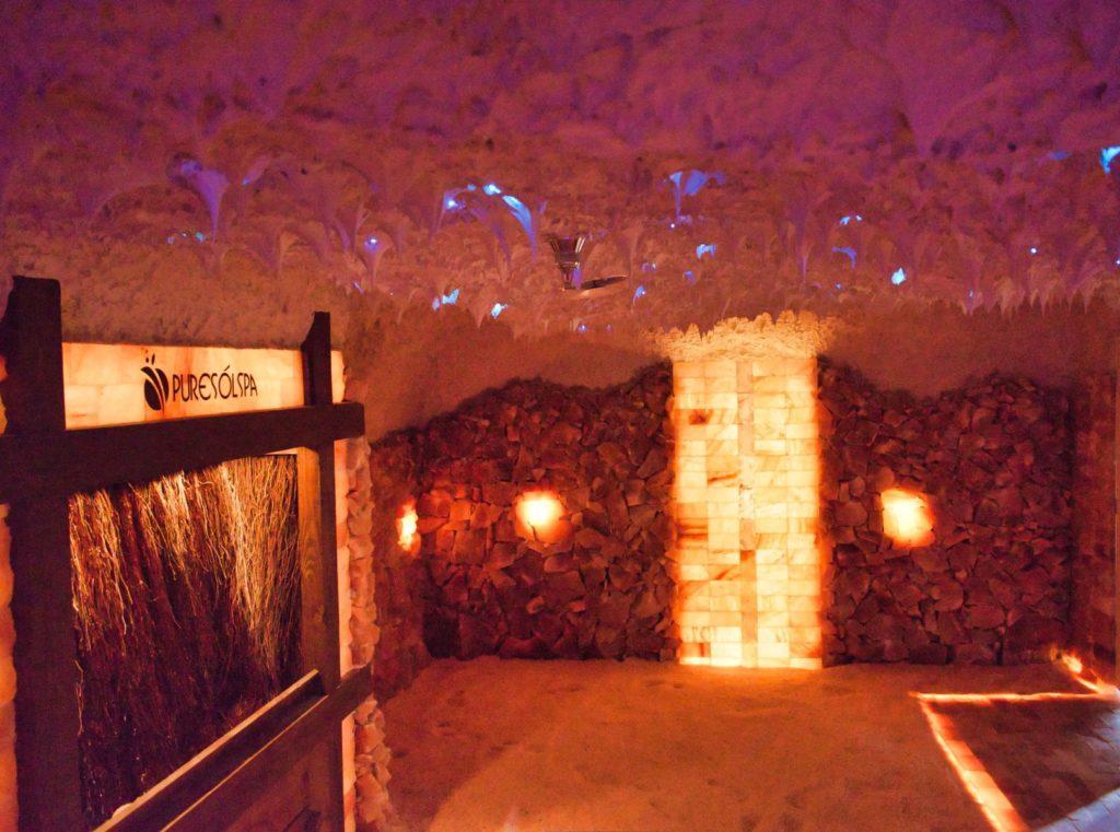 Salt cave construction, Polish salt, Himalayan salt